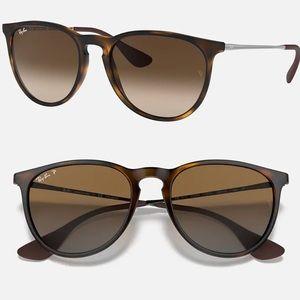 New Ray Ban Erika RB4171-F Tortoise Sunglasses